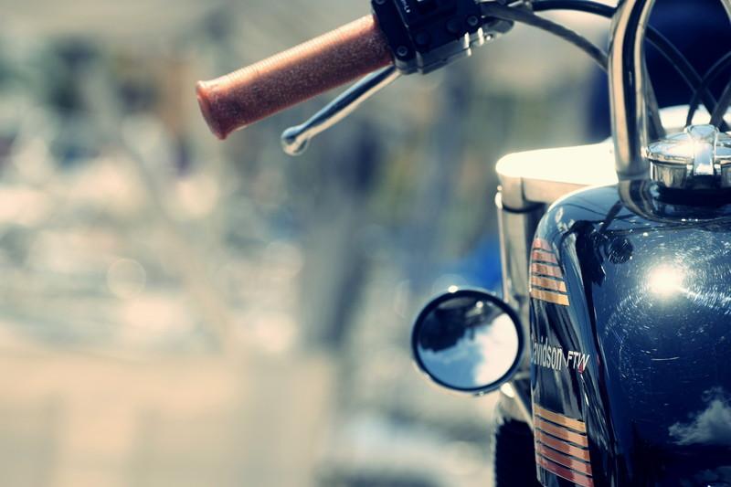 バイク 側面